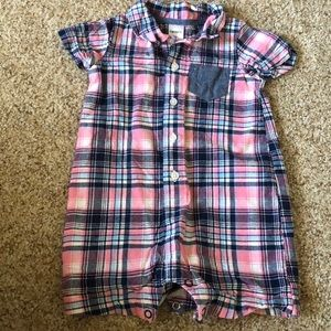 Plaid Romper!